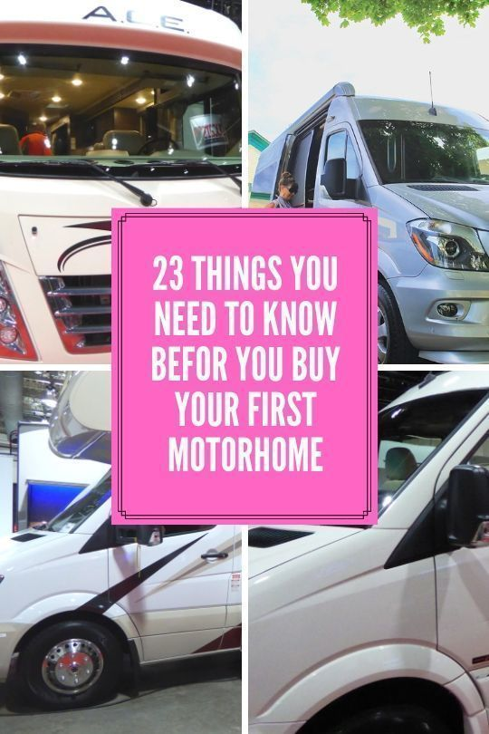 23 Things You Need To Know Before You Buy Your First Motorhome? 1