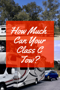 How Much Can Your Class C Tow 3
