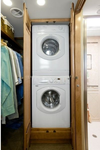 Stackable Washing Machine for RV